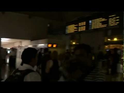 Getting stuck in Nice Train Station at 3am!