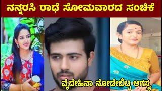 ನನ್ನರಸಿ ರಾಧೆ ಸೋಮವಾರದ ಸಂಚಿಕೆ //ವೈದೇಹಿನಾ ನೋಡೇಬಿಟ್ಟ ಅಗಸ್ತ್ಯ   Nannarasi radhe Monday short review