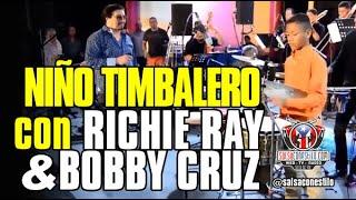 "Impecable toque de niño timbalero con Richie Ray & Bobby Cruz /// ""Wito"" Arenas /// @salsaconestilo"