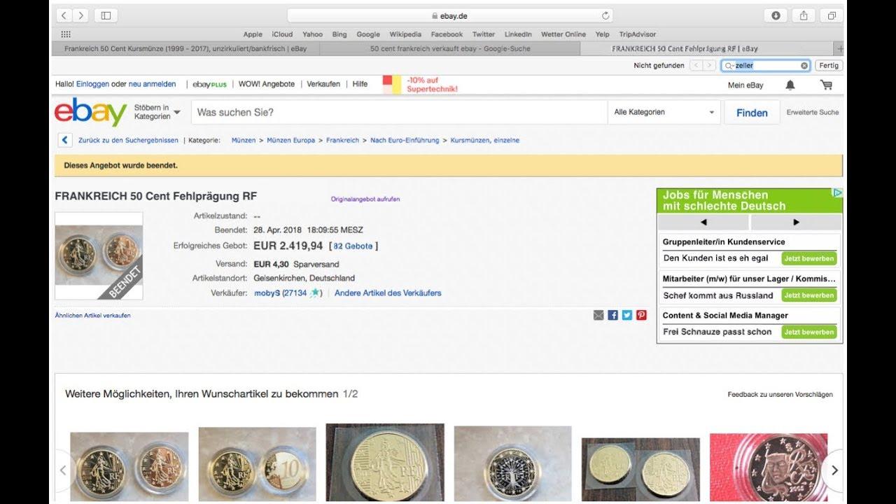 Videobeweis Diese 05 Euro Münze Macht Dich Reich Youtube