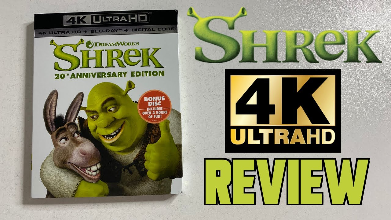 Shrek 4K Review | 20th Anniversary