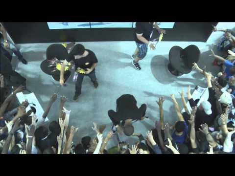 BANDAI NAMCO Games Festival - Japan Expo 2014 - Day 1