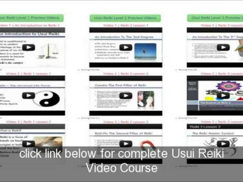 Usui Reiki Symbols Video Youtube