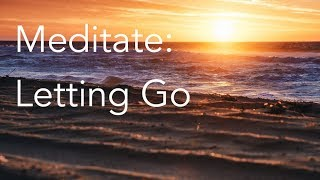 Daily Calm | 10 Minute Mindfulness Meditation | Letting Go
