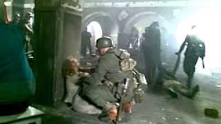 Съемки фильма о Брестской крепости.