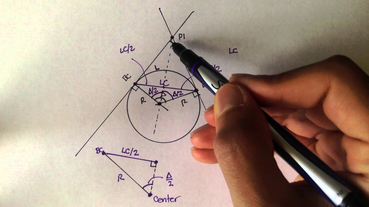 Download Advanced Geomatics: Interior Angle For Horizontal Curves