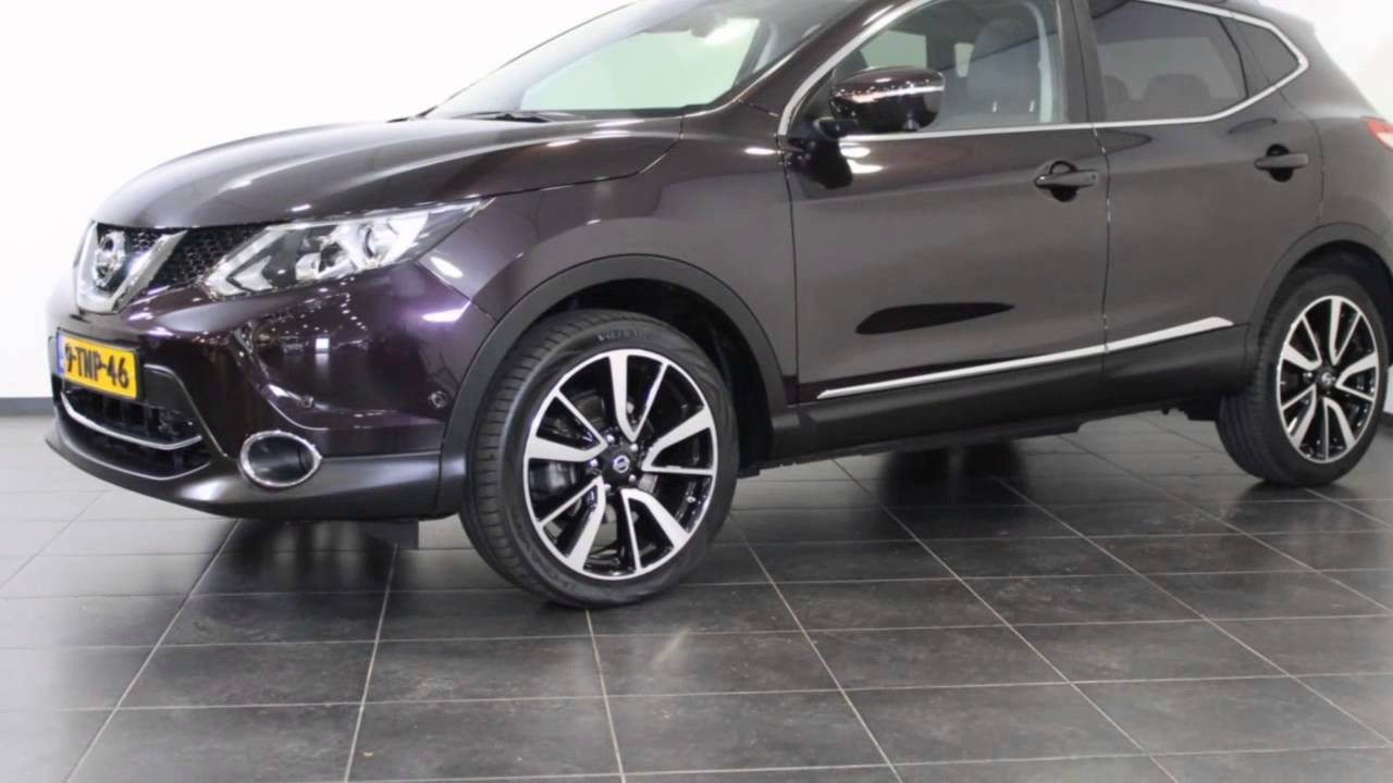nissan qashqai 1 2 tekna panoramadak chrome pack youtube. Black Bedroom Furniture Sets. Home Design Ideas