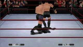 AJ Styles vs. Alex Shelley