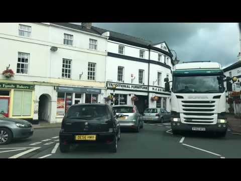 A40 London to Fishguard entire length time lapse