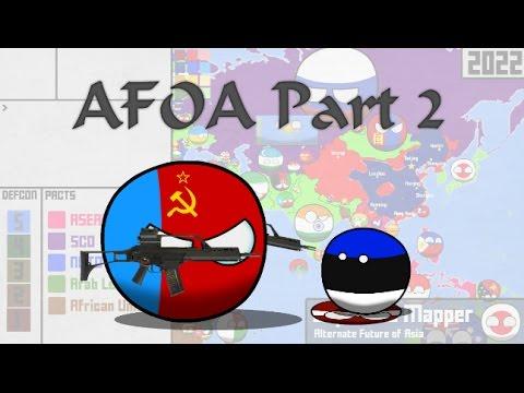 Alternate Future of Asia Part 2 l Eurasian Madness *Reupload*