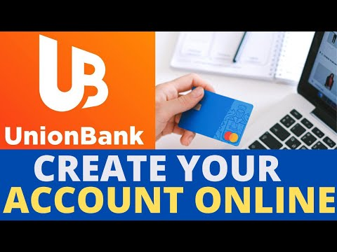 Unionbank Savings With Debit Card Application Online How To Open An Account With Union Bank Online Youtube
