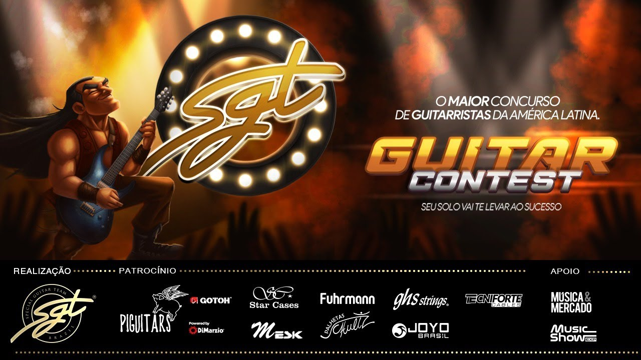 SGT GUITAR CONTEST 2020 - Mais de R$30 mil em prêmios!