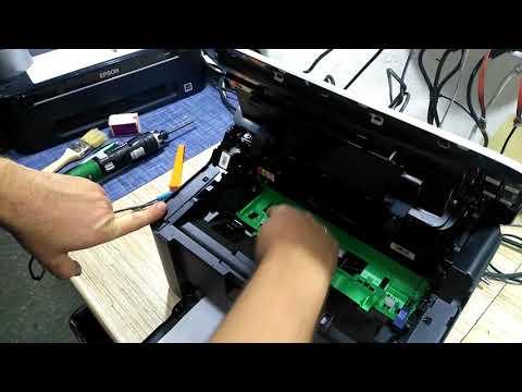 Как обнулить счетчик на принтере brother hl 1110r