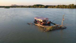 Сплав по Кубани на плоту, май 2019