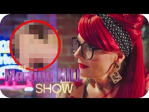 Bye Bye Exfreund-Tattoo: Jenny Silverstick hilft in der Not!   Die Martina Hill Show   SAT.1 TV