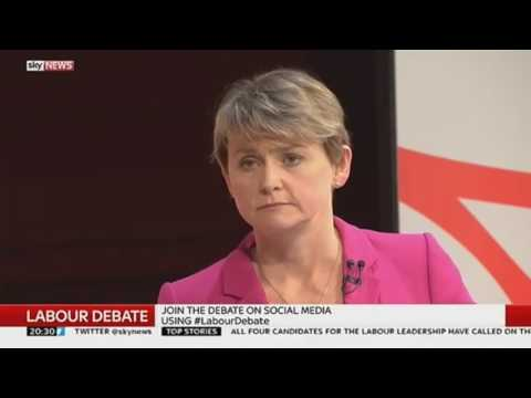 Yvette Coopers Rips Into Jeremy Corbyn Or Does She