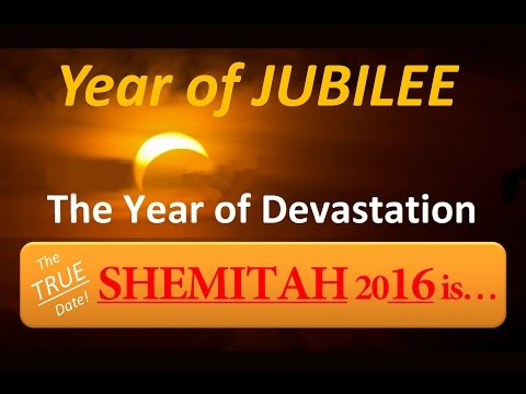CREDIT COLLAPSE, TRUE Date of SHEMITAH 2016 and the YEAR of JUBILEE! / Bo Polny