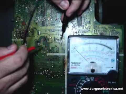 Curso de conserto de televisores