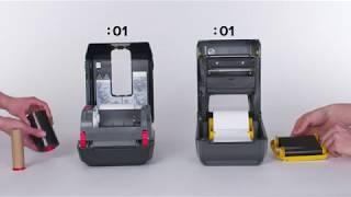 Zebra ZD420 Ribbon Cartridge Desktop Printer