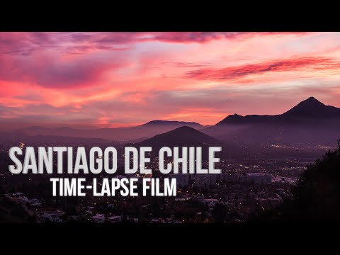 """""""Santiago: Haciéndola Corta"""" Chile Timelapse Montage   1080p HD"""