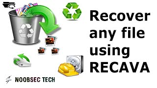 Recover Any Type Of File | Using Recava | Windows & Android