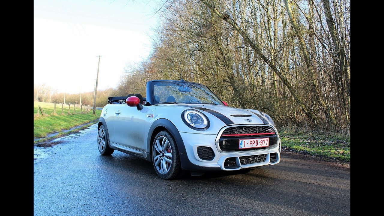 2018 Mini John Cooper Works Jcw Cabriolet Review The Euro Car