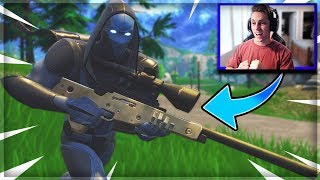 "NEW ""OMEN"" SKIN GAMEPLAY IN FORTNITE! (Fortnite Battle Royale)"
