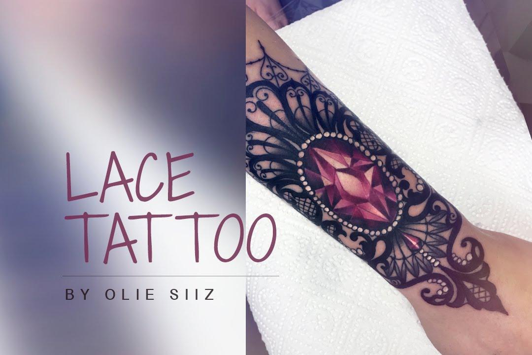 Diamond Tattoo Process Youtube