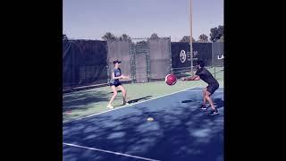 Evert Tennis Academy - Specific Tennis Footwork Drill