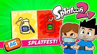 Splatfest MAYONESA vs KETCHUP en Splatoon 2 Nintendo Switch
