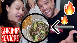 THE BEST CEVICHE EVER!! **food vlog**