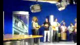 GRUPO QUEM DERA AO VIVO NA RBS TV PASSO FUNDO