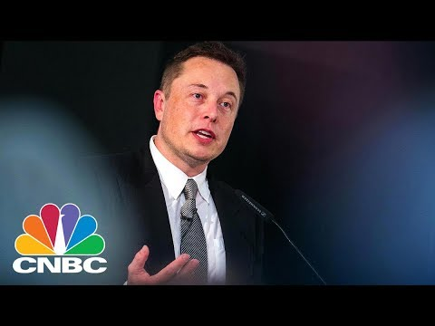 Elon Musk Shares First Picture Of A Tunnel Dug By His Boring Company   CNBC