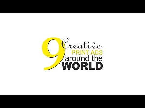 9 Creative Print Ads around the world