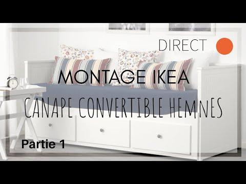 Direct Montage Ikea Hemnes Partie 1 Youtube