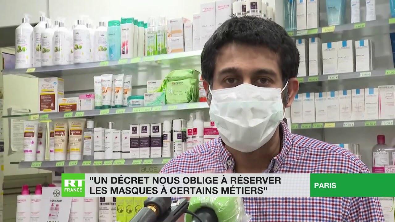 Covid-19 en France : des pharmacies sous pression face aux pénuries de masques et de gants