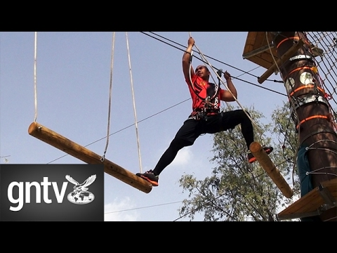 Extreme fitness at Aventura Nature Adventure Park