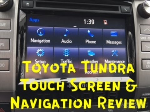 Toyota Tundra Touch Screen & Navigation Review