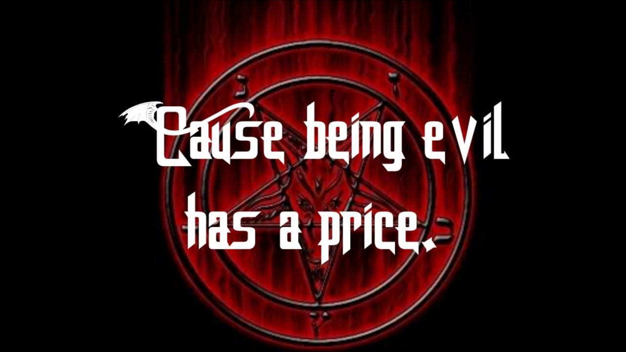 being evil has a price mp3 free download