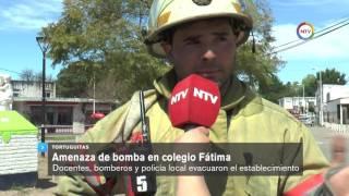 NTV Flash | Amenaza de bomba en Colegio Fátima