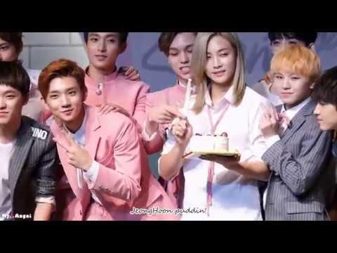 cutest moment Jeonghan X Jihoon (JeongHoon) 1