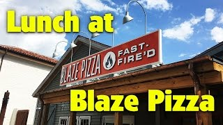 NEW Blaze Pizza | Disney Springs