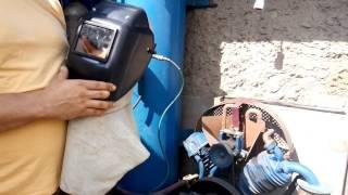 пескоструйная маска, шлем пескоструйщика(, 2016-08-02T16:36:14.000Z)