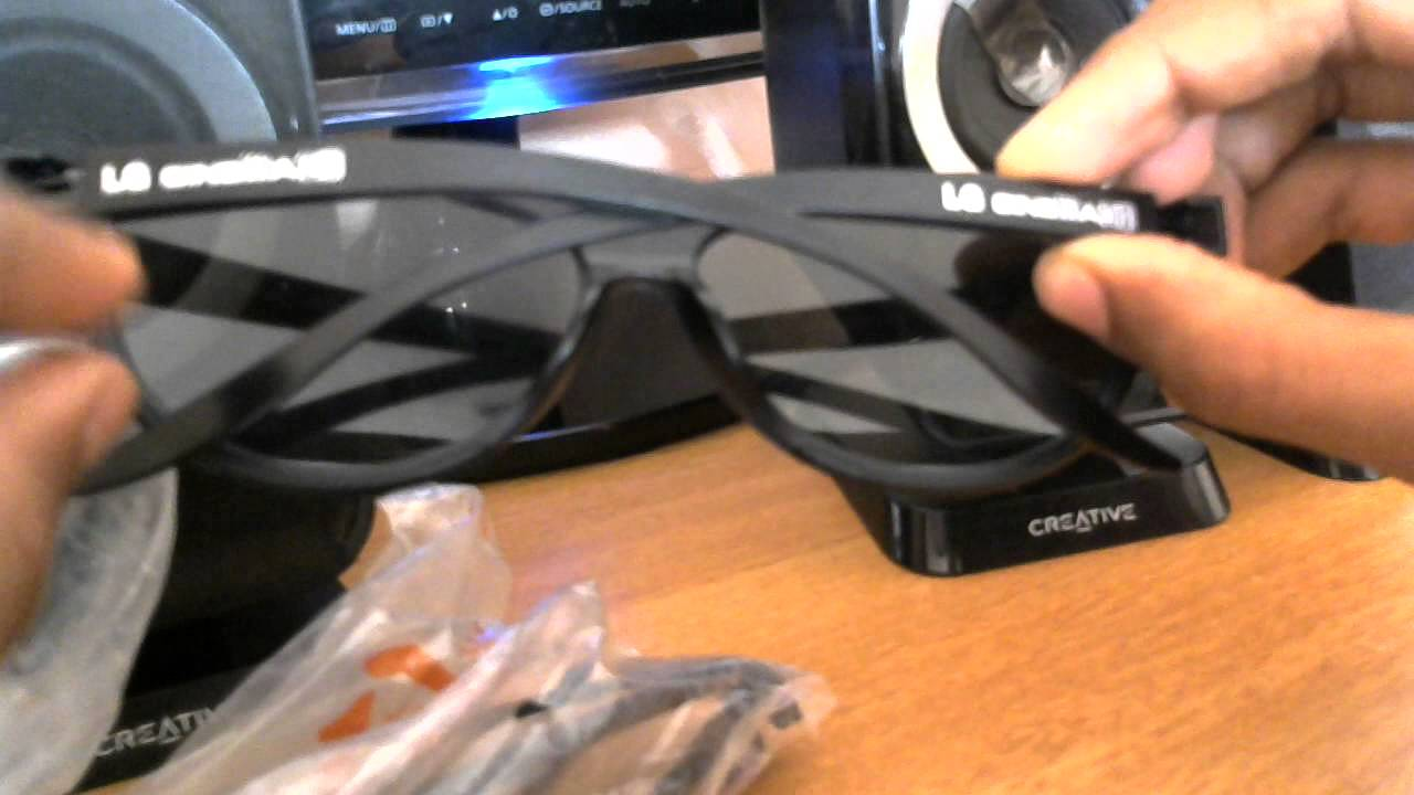 f2824af1ea79f LG CINEMA 3D GLASSES AG F310 - YouTube