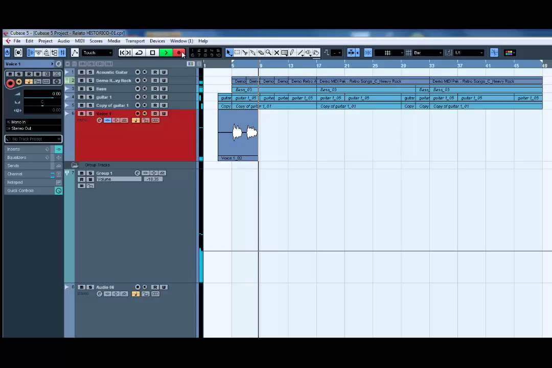 Download How to Record audio in Cubase 5