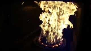 Работа пеллетной горелки Zota Pellet(, 2012-03-11T07:35:55.000Z)