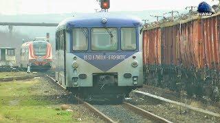 Activitate Feroviara/Rail Activity in Gara Baia Mare Station [M400] - 06 February 2018