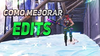 *COMO MEJORAR EDITS, AIM Y CONSTRUCCION* FORTNITE BATTLE ROYALE