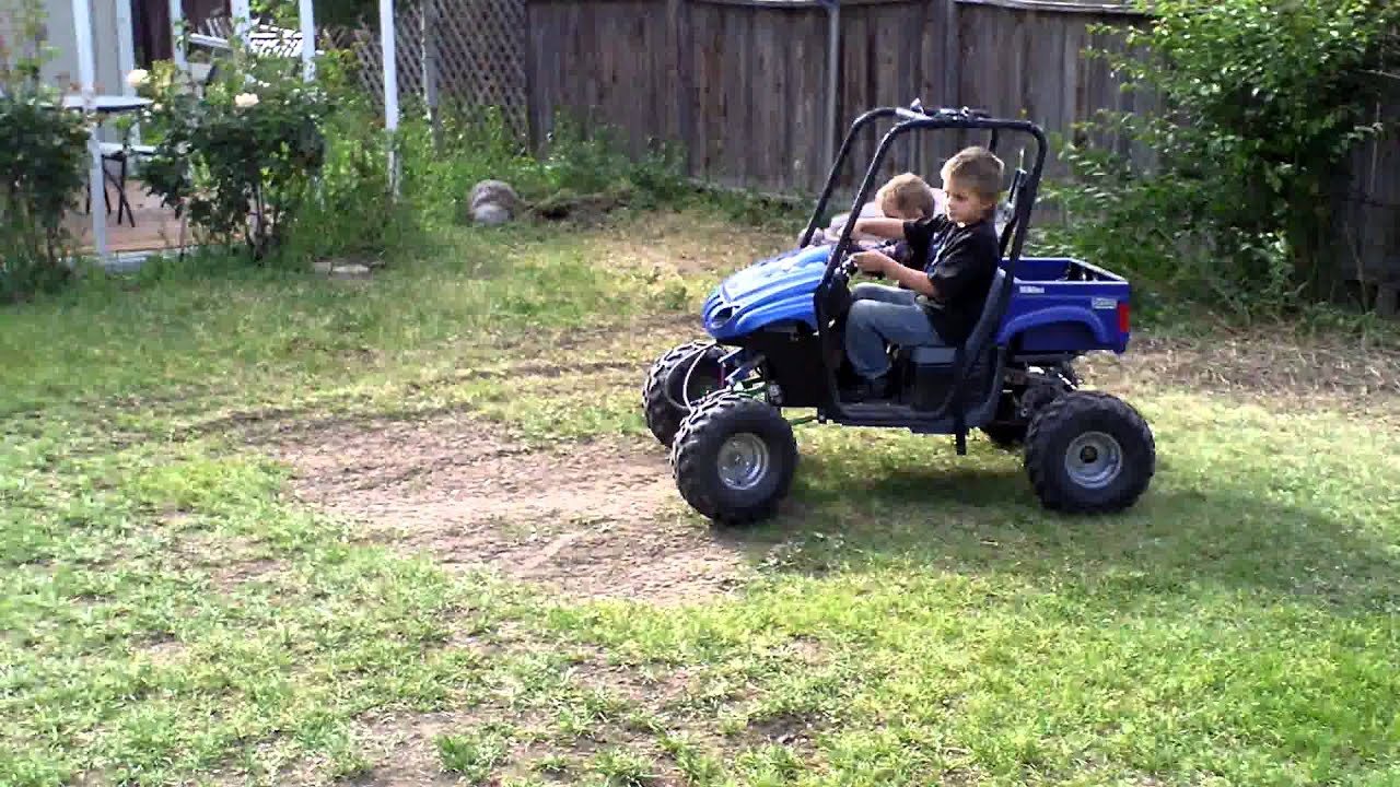 Modified Power Wheels Full Suspension Youtube
