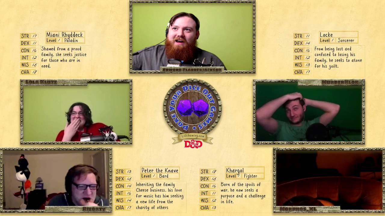 Dungeons And Dragons Stream
